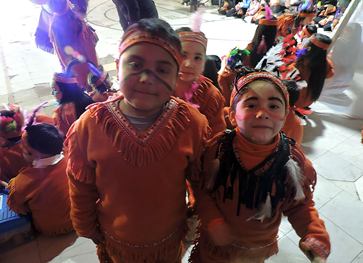 celebrando pueblos originarios en ceas